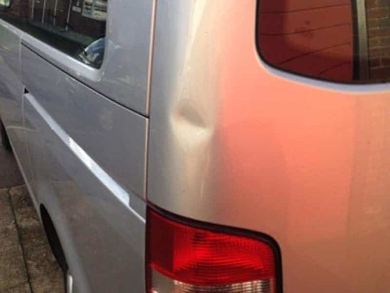 VW Transporter Before